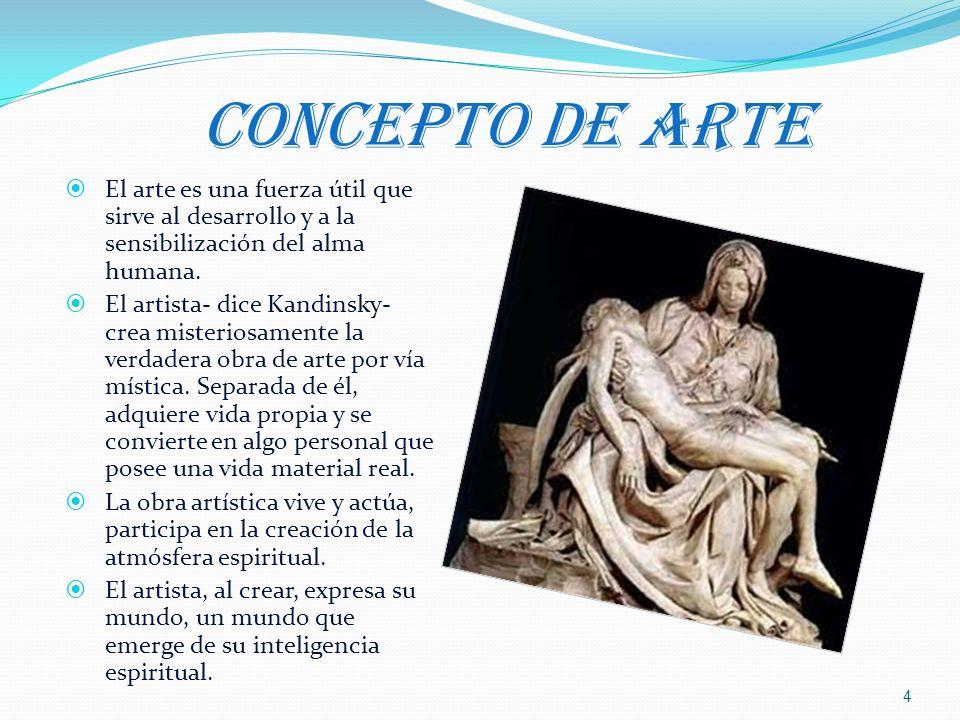 LA COMPETENCIA ESPIRITUAL EN EL ARTE