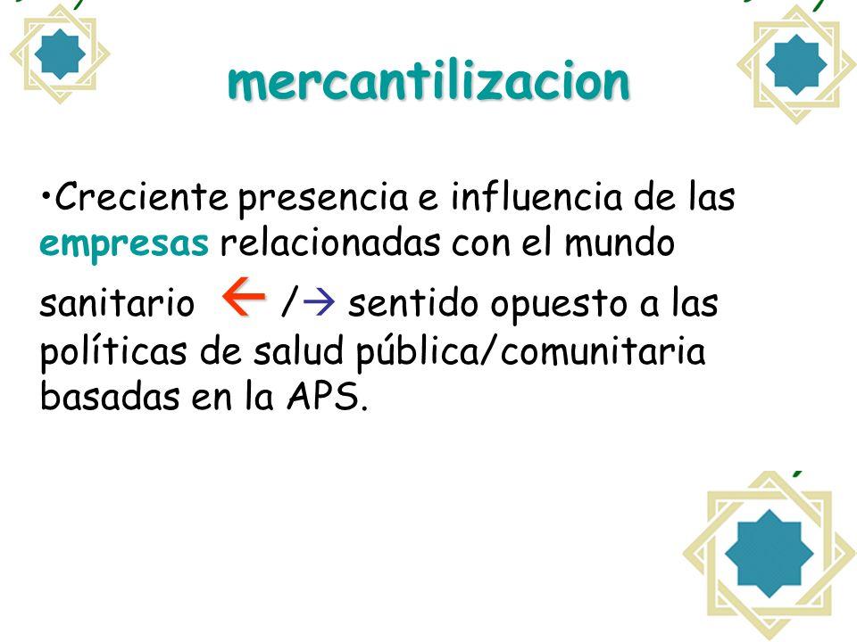 mercantilizacion