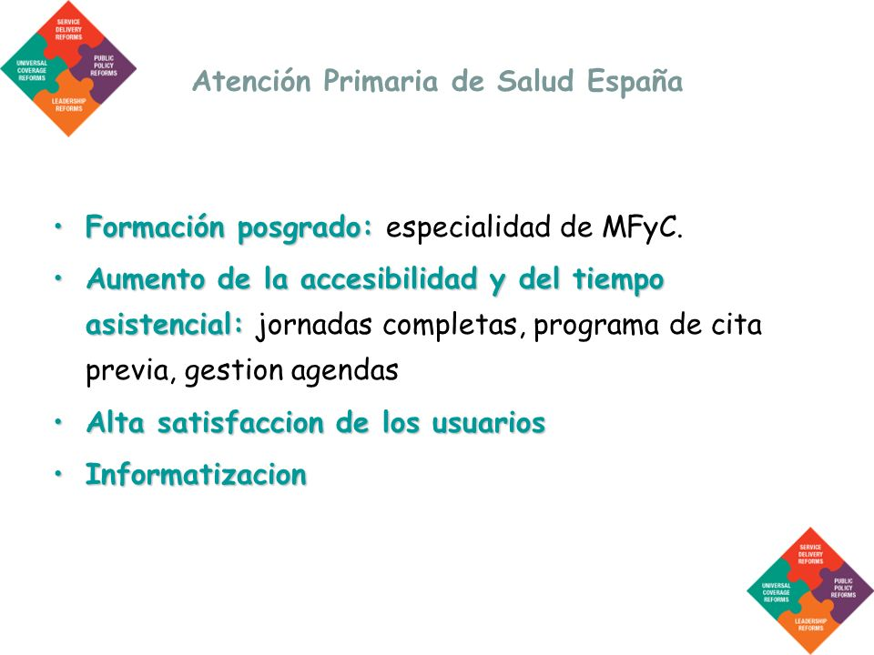 Atención Primaria de Salud España
