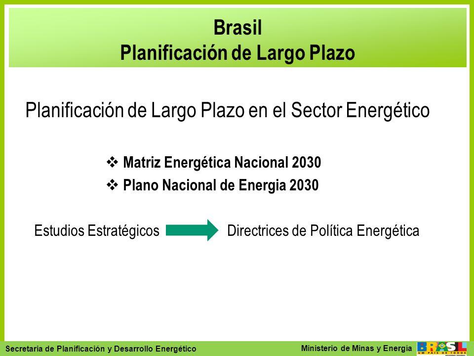 Brasil Planificación de Largo Plazo