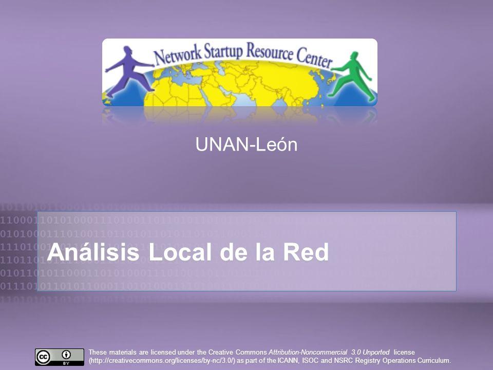 Análisis Local de la Red