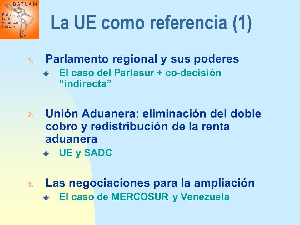 La UE como referencia (1)