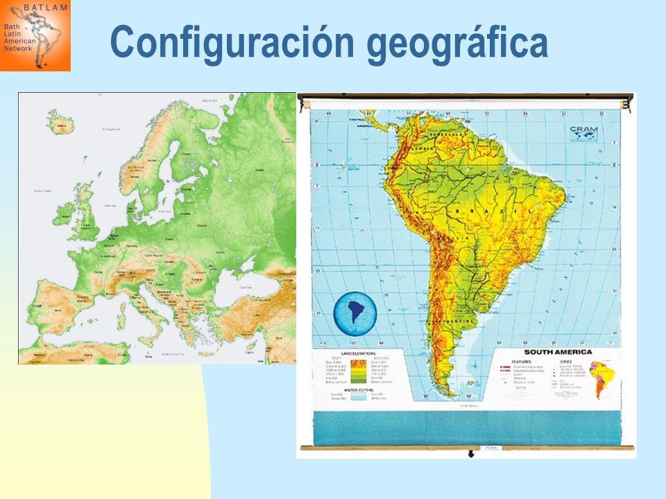 Configuración geográfica