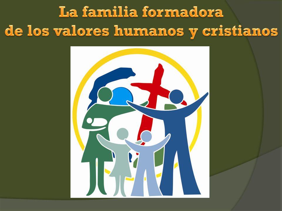de los valores humanos y cristianos