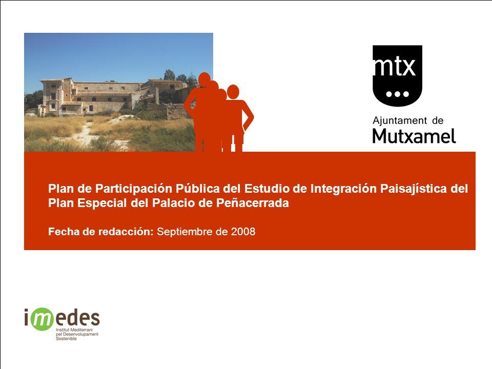     Plan de Participación Pública del Estudio de Integración Paisajística del Plan Especial del Palacio de Peñacerrada.