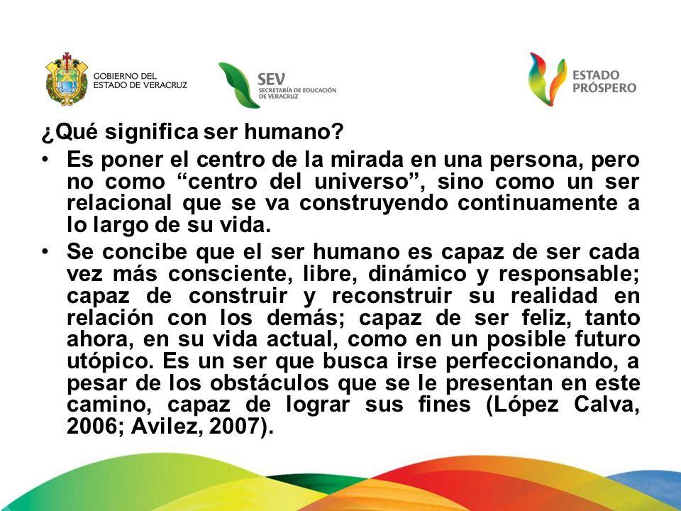 ¿Qué significa ser humano