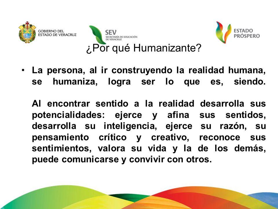 ¿Por qué Humanizante