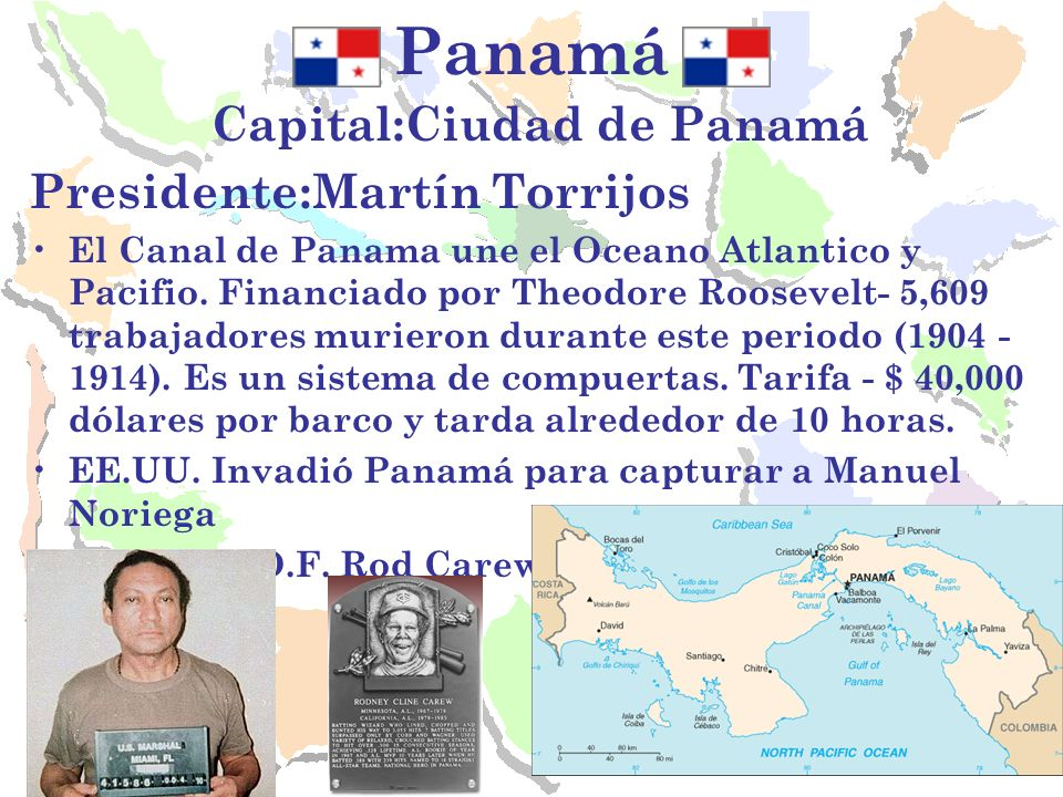 Capital:Ciudad de Panamá