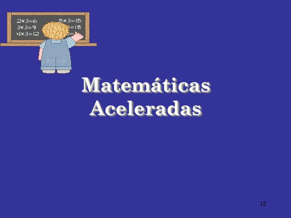 Matemáticas Aceleradas