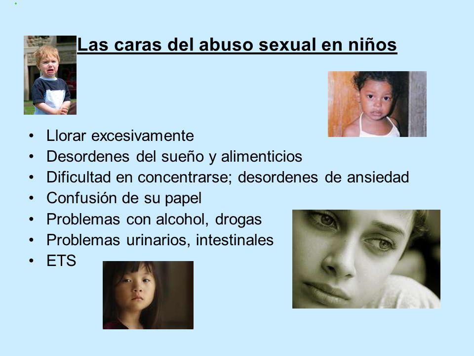 Las caras del abuso sexual en niños