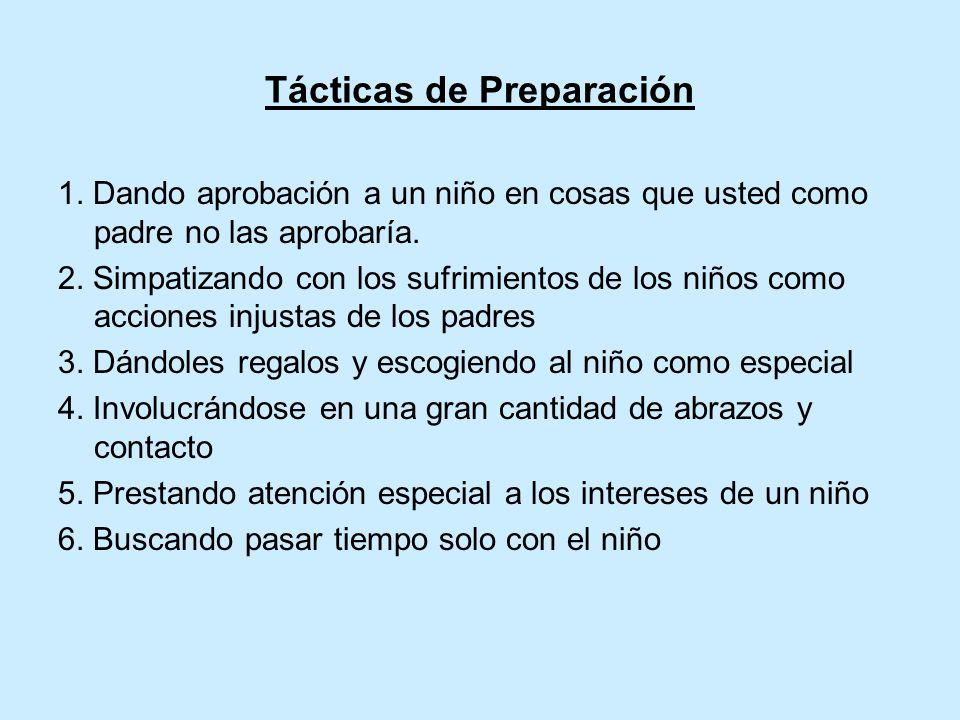 Tácticas de Preparación