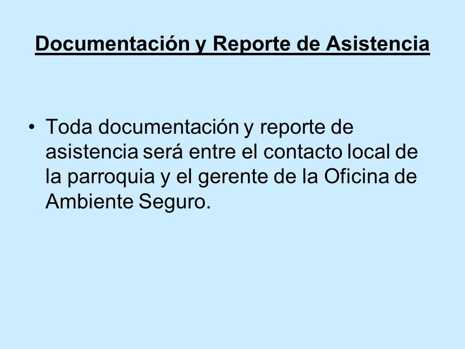 Documentación y Reporte de Asistencia