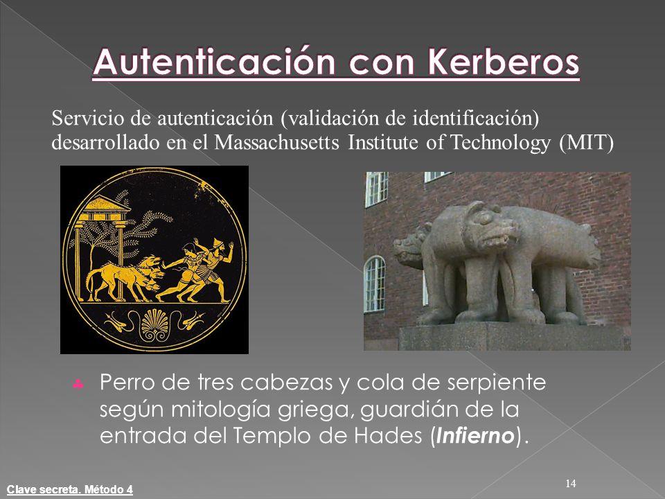 Autenticación con Kerberos