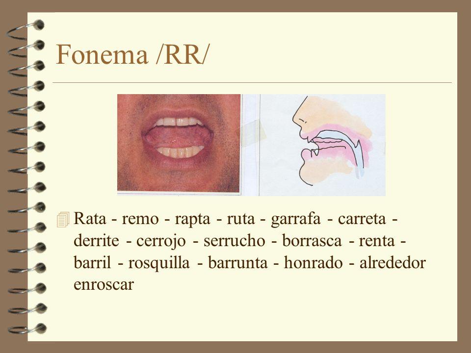 Fonema /RR/