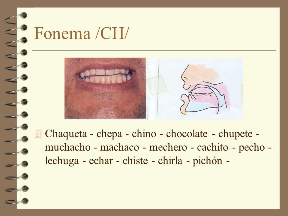 Fonema /CH/