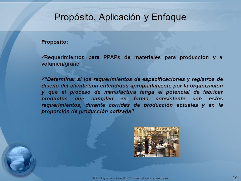 Propósito, Aplicación y Enfoque