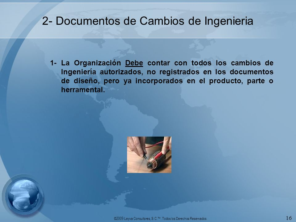 2- Documentos de Cambios de Ingenieria