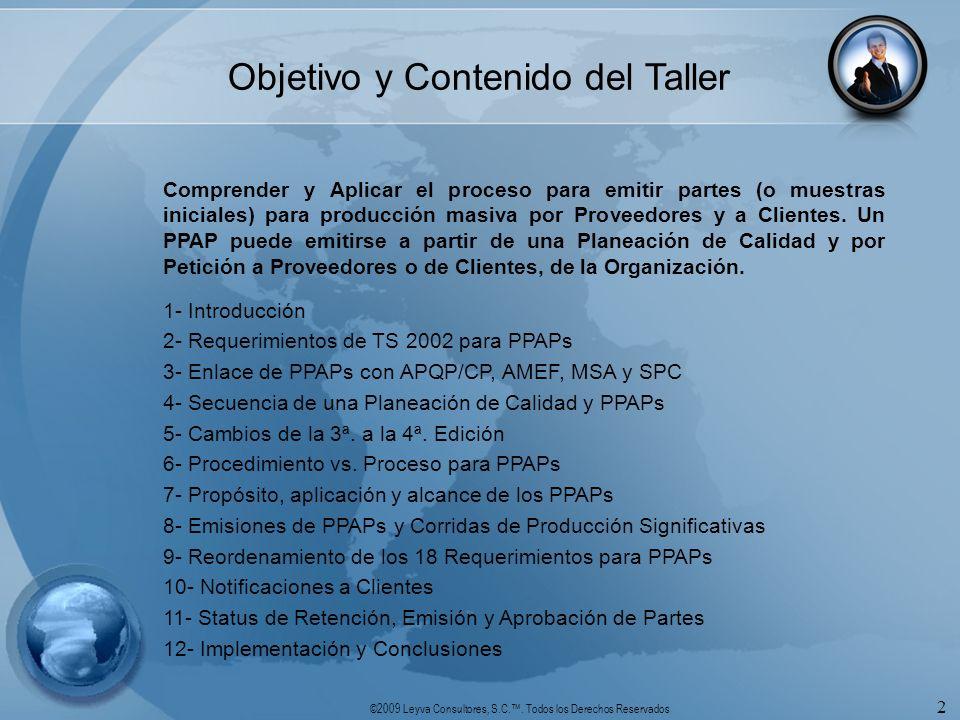 Objetivo y Contenido del Taller