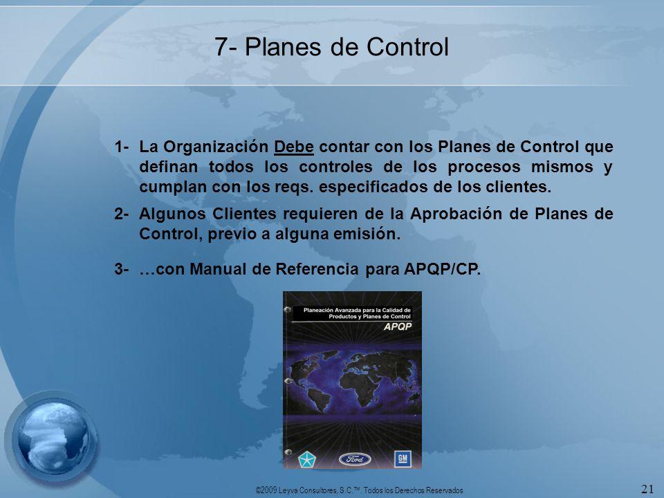 7- Planes de Control