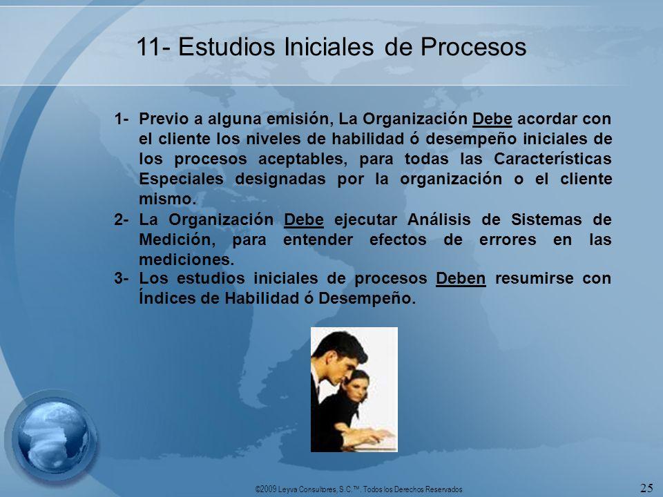 11- Estudios Iniciales de Procesos