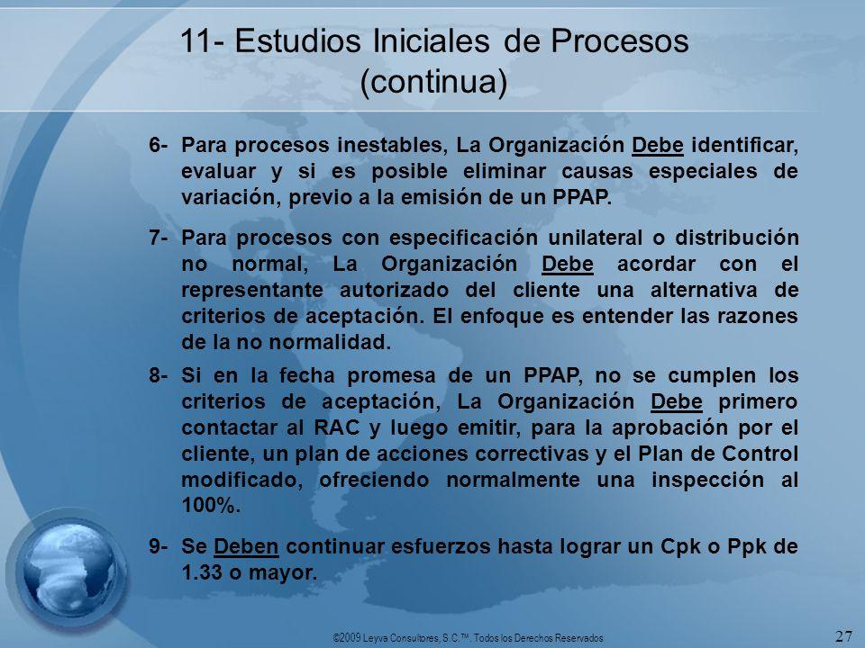 11- Estudios Iniciales de Procesos (continua)