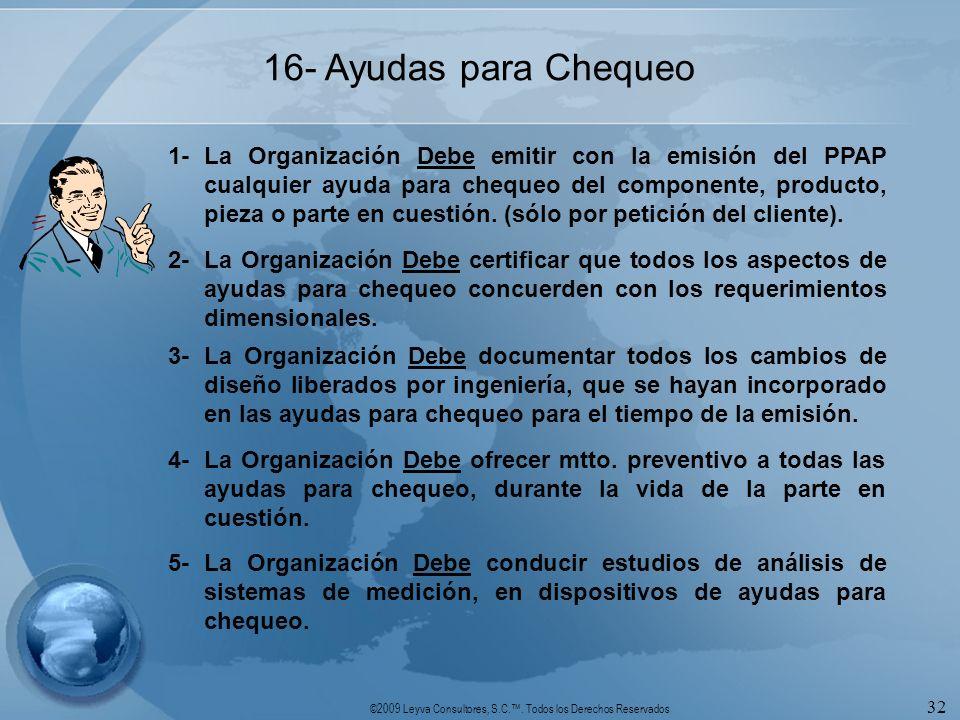 16- Ayudas para Chequeo