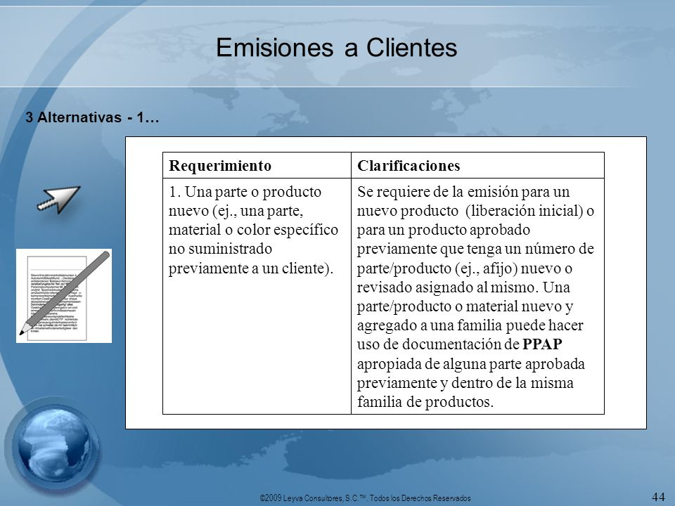 Emisiones a Clientes 3 Alternativas - 1…