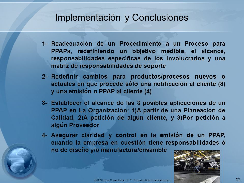Implementación y Conclusiones