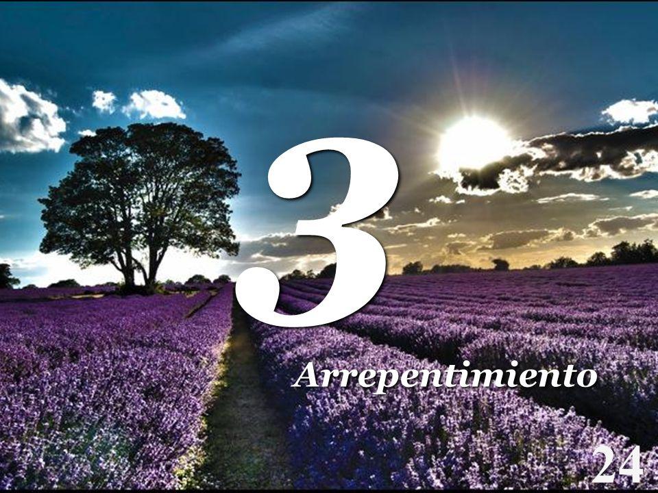 3 Arrepentimiento 24