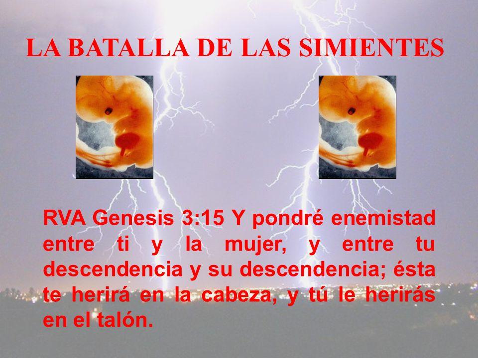 LA BATALLA DE LAS SIMIENTES