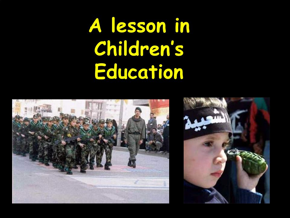 A lesson in Children's Education