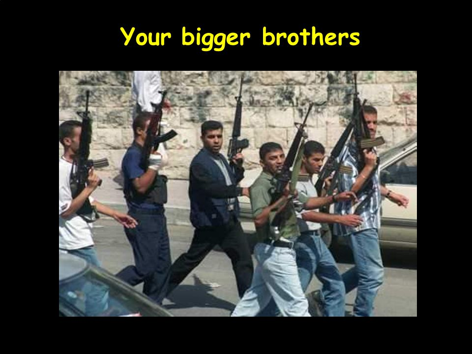 Your bigger brothers