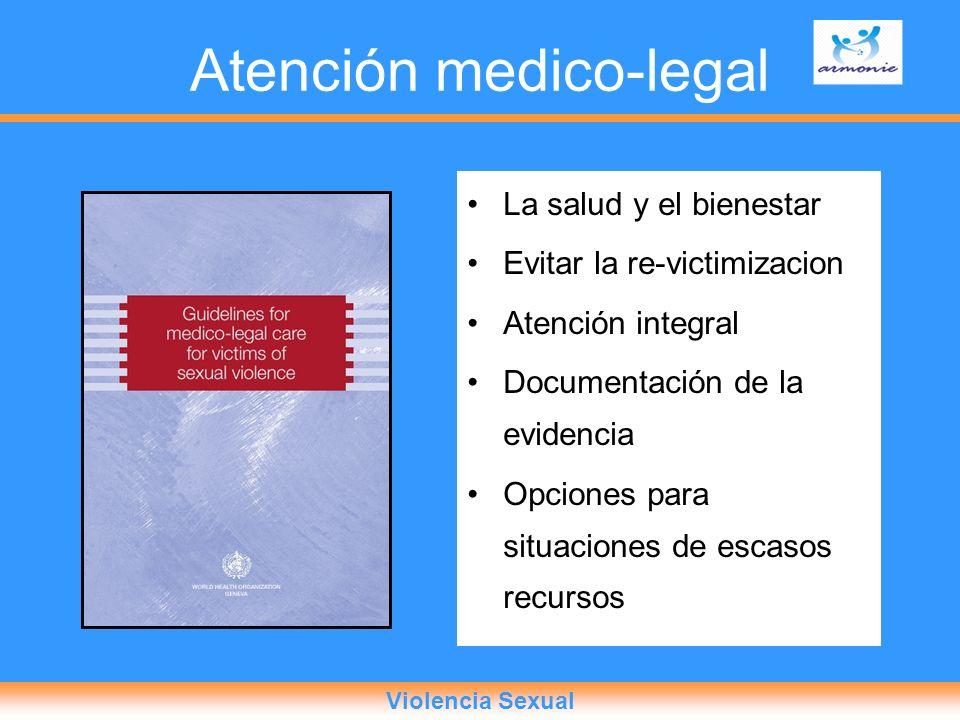 Atención medico-legal