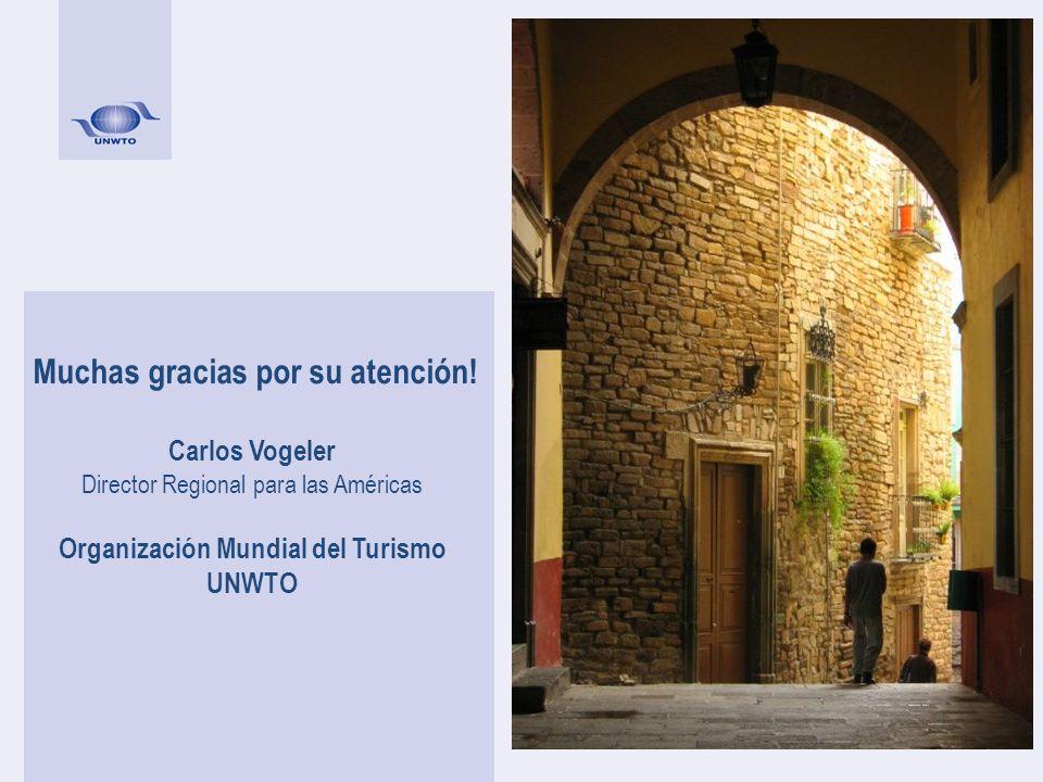 Muchas gracias por su atención! Organización Mundial del Turismo
