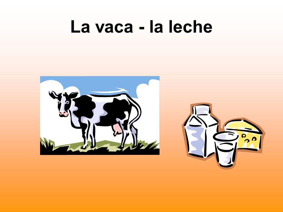 La vaca - la leche