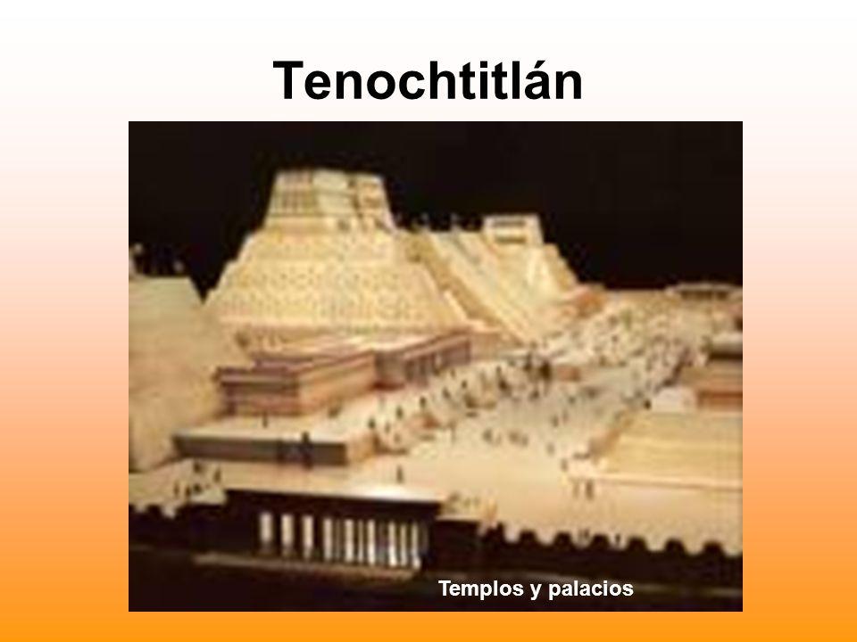 Tenochtitlán Templos y palacios