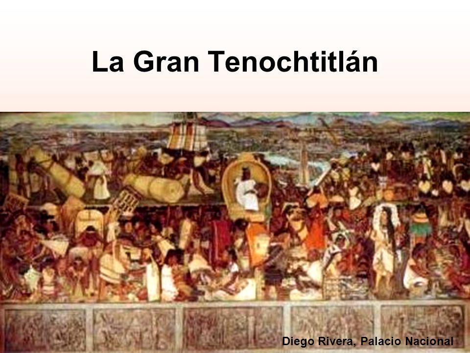 La Gran Tenochtitlán Diego Rivera, Palacio Nacional