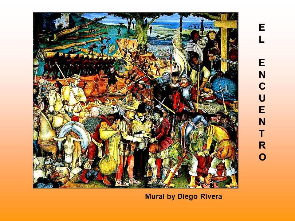 E L N C U T R O Mural by Diego Rivera