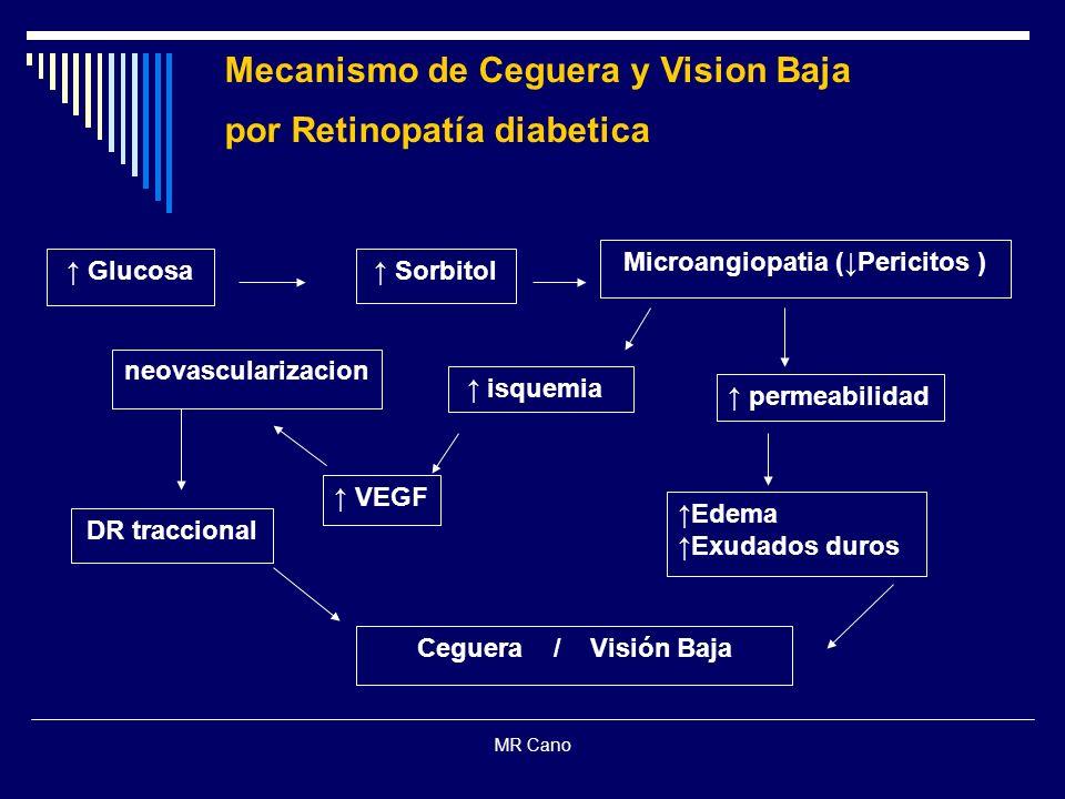 Microangiopatia (↓Pericitos )