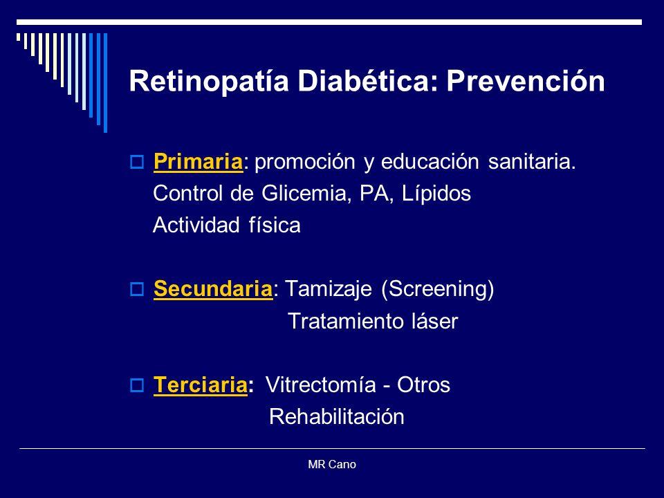 Retinopatía Diabética: Prevención