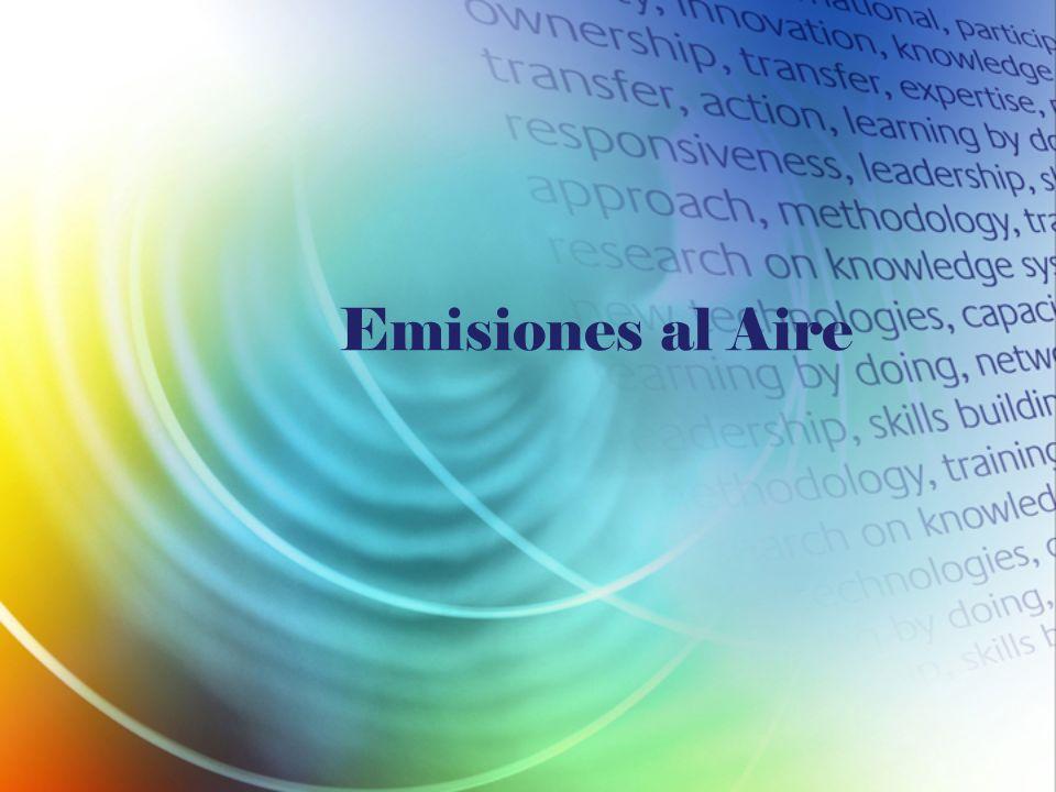 Emisiones al Aire