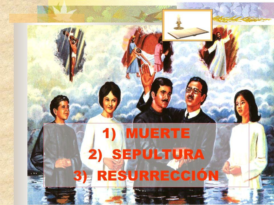 MUERTE SEPULTURA RESURRECCIÓN