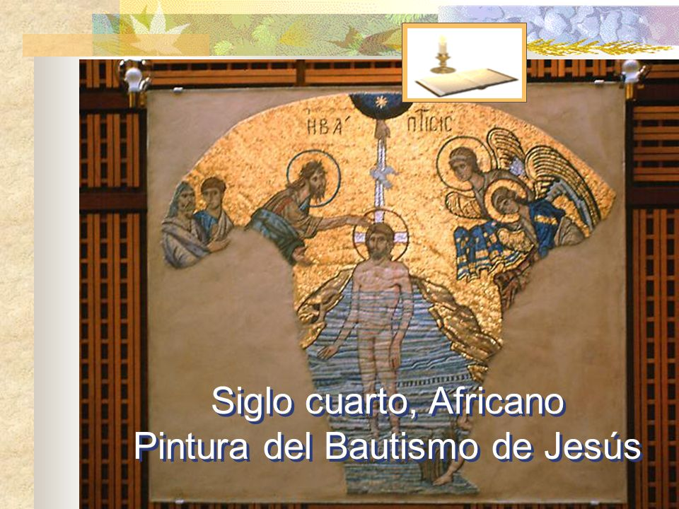 Pintura del Bautismo de Jesús