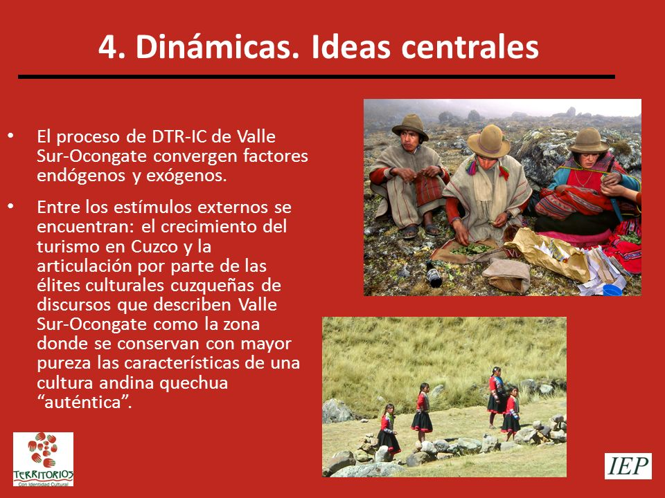 4. Dinámicas. Ideas centrales