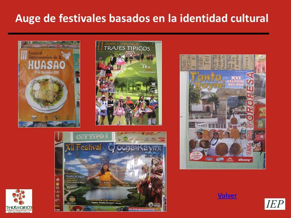 Auge de festivales basados en la identidad cultural
