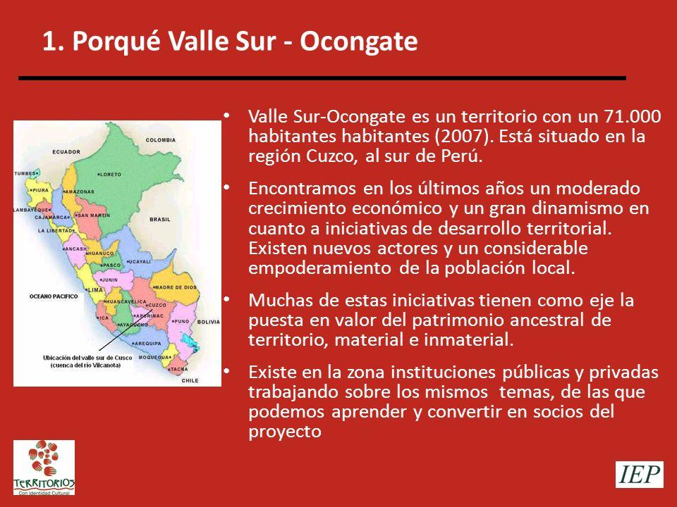 1. Porqué Valle Sur - Ocongate
