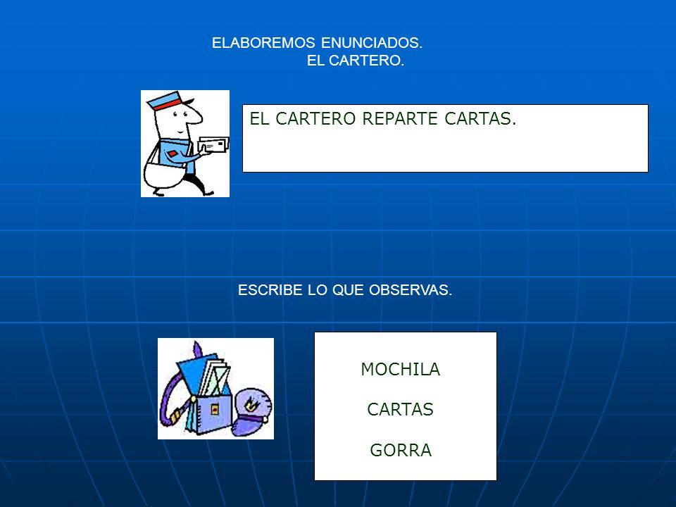EL CARTERO REPARTE CARTAS.