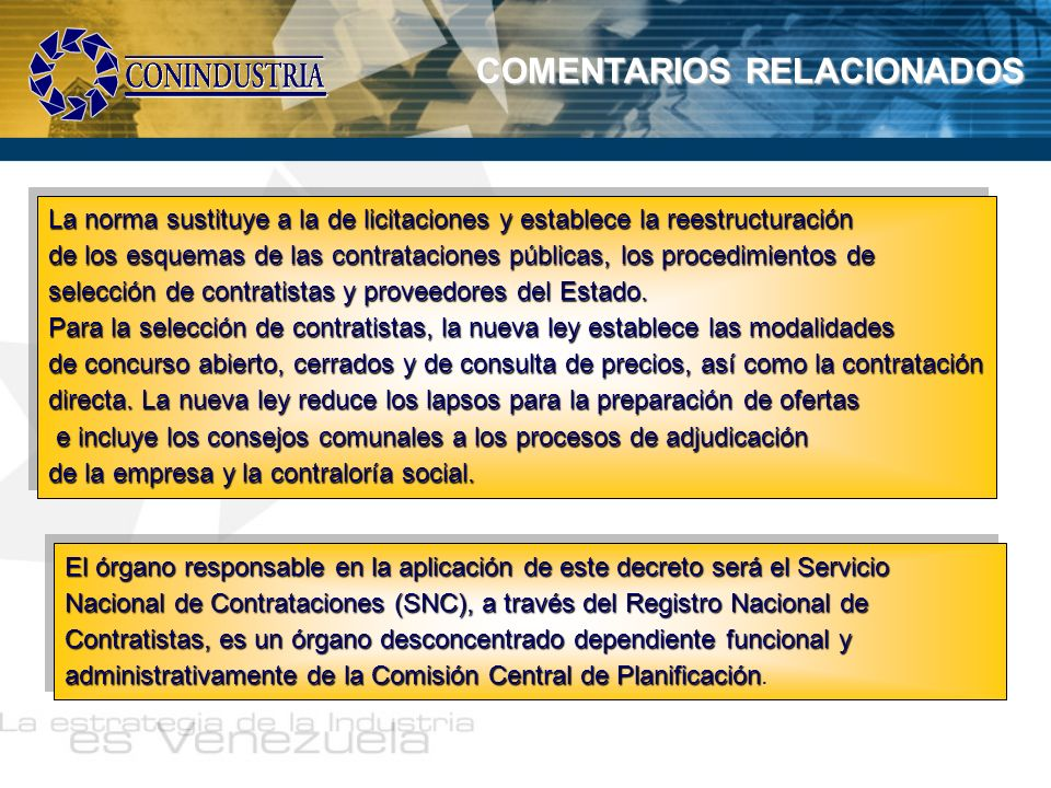 COMENTARIOS RELACIONADOS
