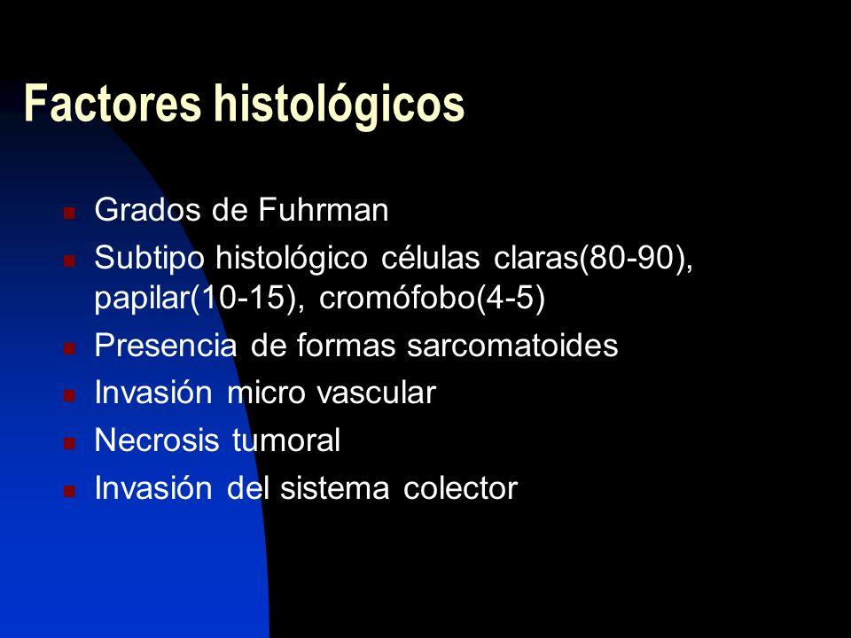 Factores histológicos