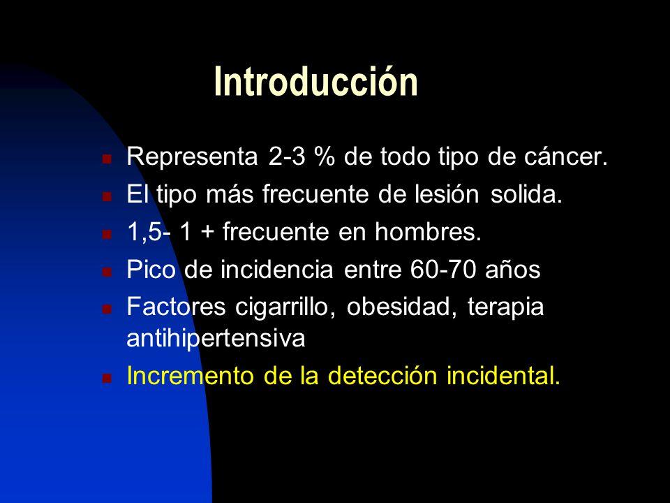 Introducción Representa 2-3 % de todo tipo de cáncer.